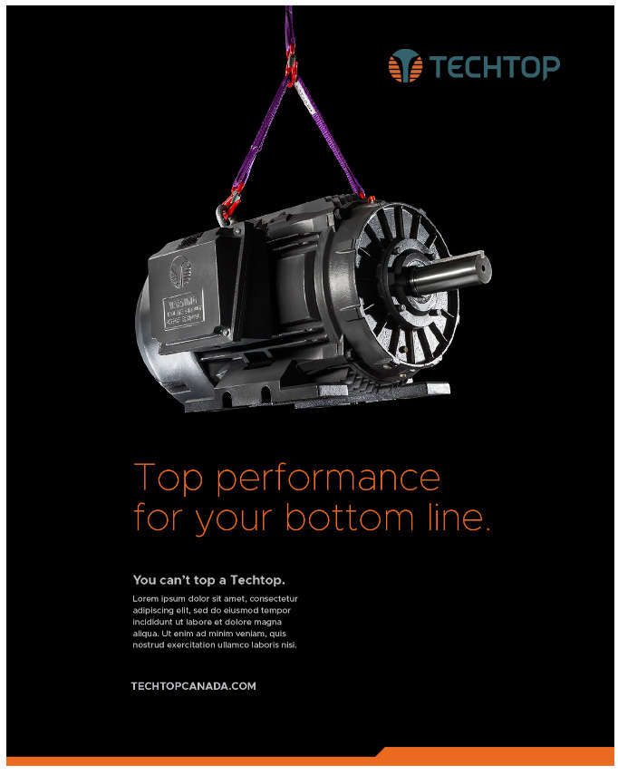 Top performance for your bottom line motor graphic