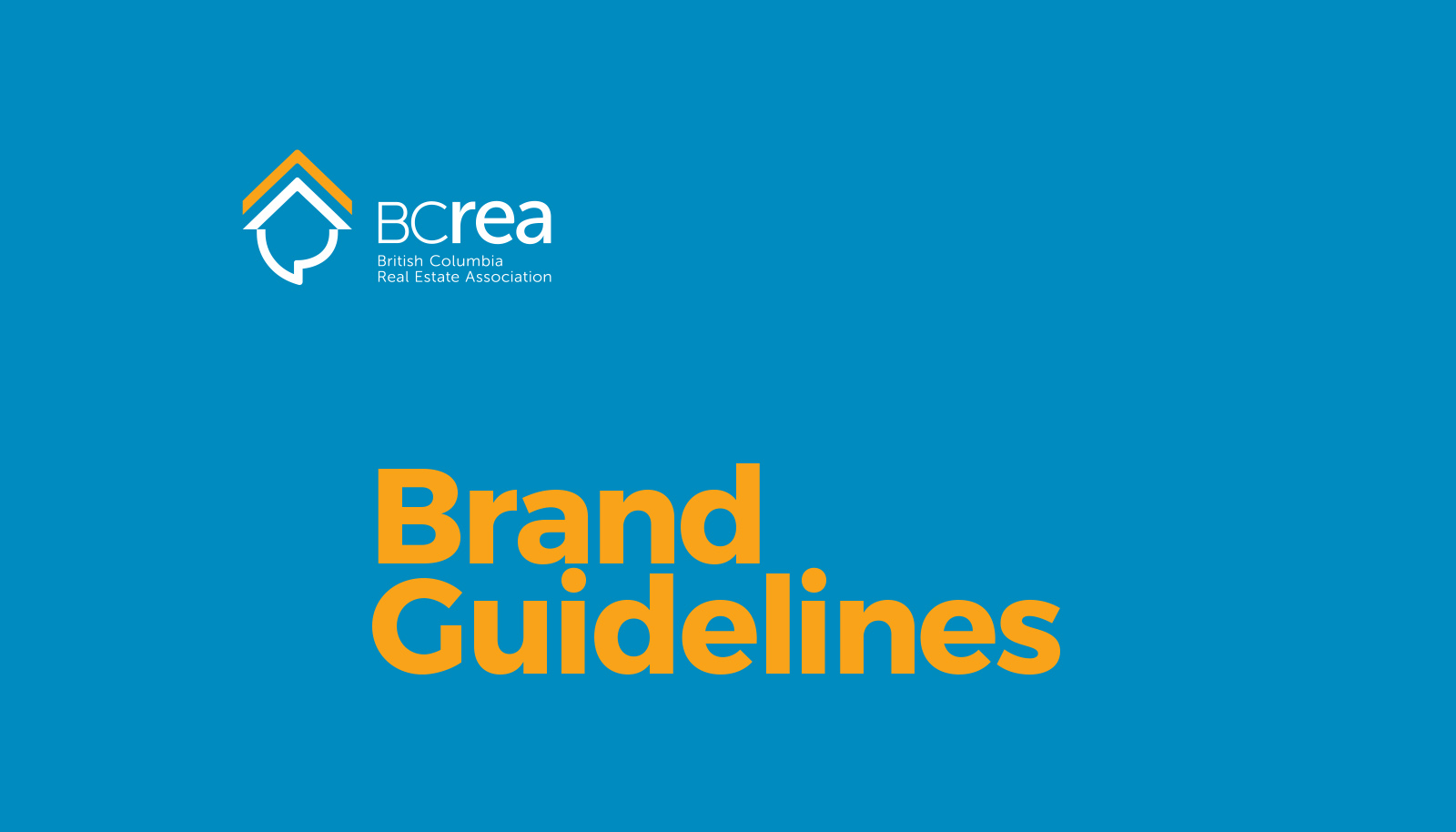 BCREA's brand guidelines